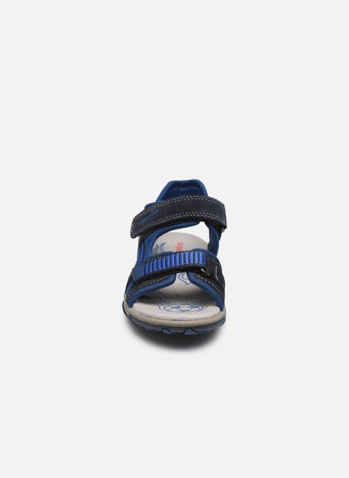 Sandalen Superfit Mike 3,0 blau schuhe getragen