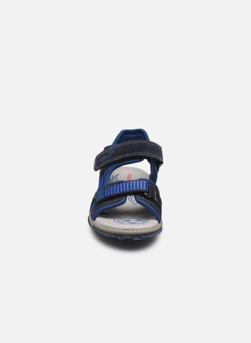 Sandales et nu-pieds Superfit Mike 3,0 Bleu vue portées chaussures