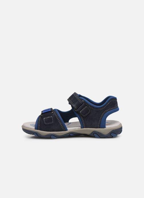Sandalen Superfit Mike 3,0 blau ansicht von vorne