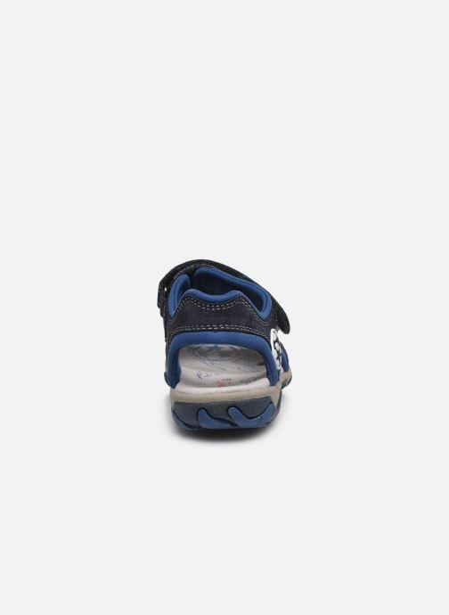 Sandalen Superfit Mike 3,0 blau ansicht von rechts
