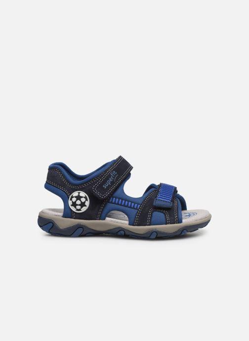 Sandalen Superfit Mike 3,0 blau ansicht von hinten