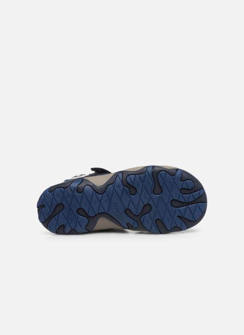 Sandalen Superfit Mike 3,0 blau ansicht von oben