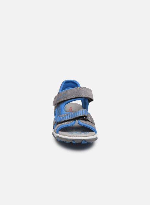 Sandales et nu-pieds Superfit Mike 3,0 Gris vue portées chaussures