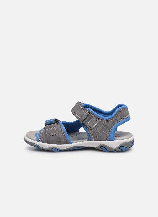 Sandalias Superfit Mike 3,0 Gris vista de frente