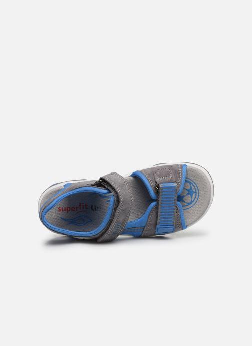 Sandales et nu-pieds Superfit Mike 3,0 Gris vue gauche