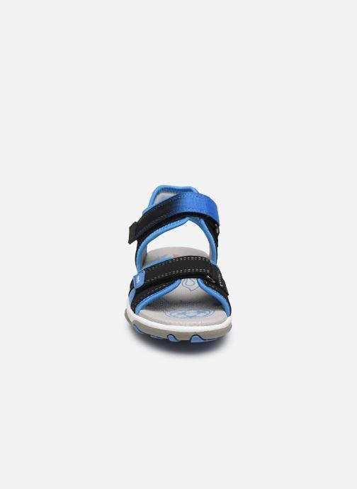 Sandali e scarpe aperte Superfit Mike 3,02 Nero modello indossato