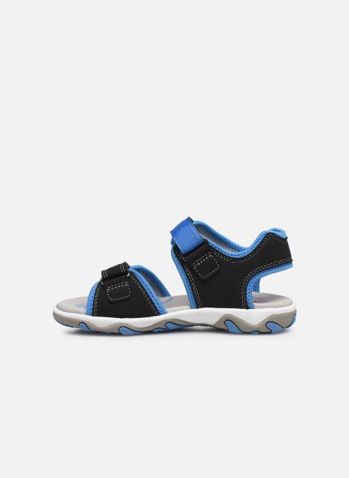 Sandalen Superfit Mike 3,02 schwarz ansicht von vorne