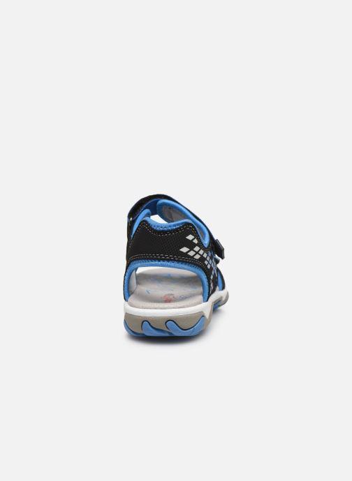 Sandalen Superfit Mike 3,02 schwarz ansicht von rechts