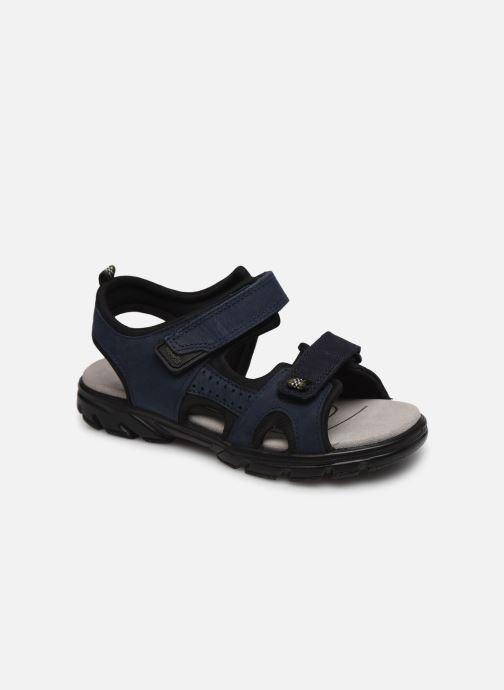 Sandales et nu-pieds Superfit Scorpius Bleu vue détail/paire