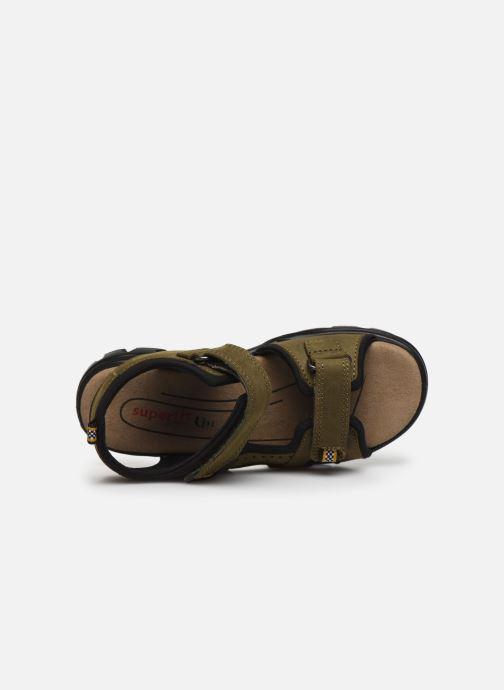 Sandali e scarpe aperte Superfit Scorpius Verde immagine sinistra