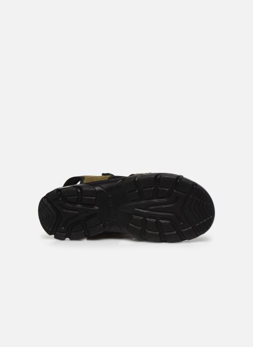 Sandali e scarpe aperte Superfit Scorpius Verde immagine dall'alto