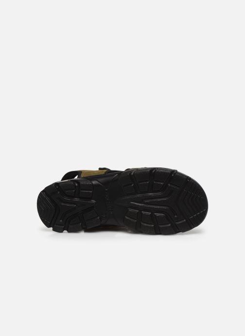 Sandales et nu-pieds Superfit Scorpius Vert vue haut