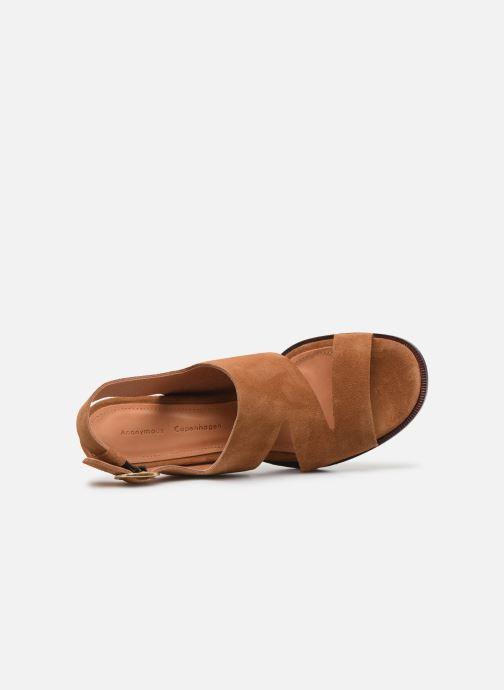 Sandales et nu-pieds Anonymous Copenhagen BRITTA 55 Marron vue gauche
