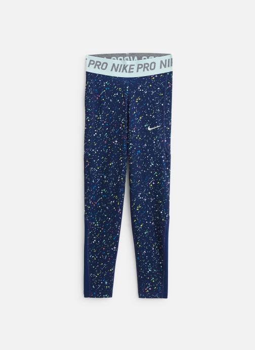 Vêtements Nike Nike Pro Wm Tight Print Wz Bleu vue détail/paire