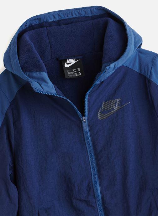 Vêtements Nike Nike Sportswear Track Suit Winterized Bleu vue portées chaussures