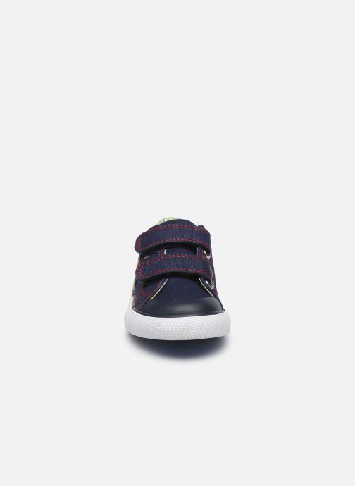 Sneaker Pablosky Baskets Lifestyle blau schuhe getragen