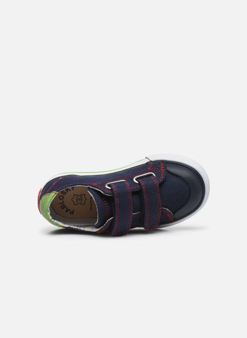 Sneaker Pablosky Baskets Lifestyle blau ansicht von links
