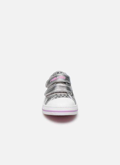Sneakers Pablosky Baskets Lifestyle Argento modello indossato