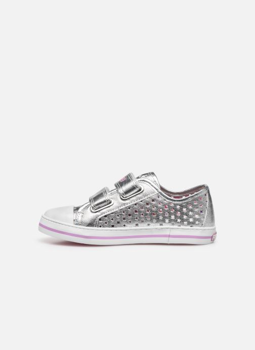 Sneakers Pablosky Baskets Lifestyle Argento immagine frontale