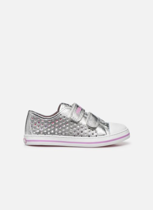 Sneakers Pablosky Baskets Lifestyle Argento immagine posteriore