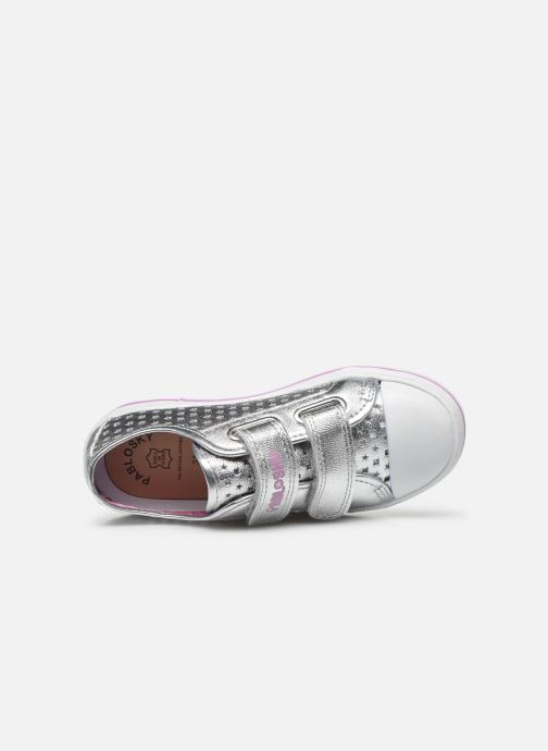 Sneakers Pablosky Baskets Lifestyle Argento immagine sinistra