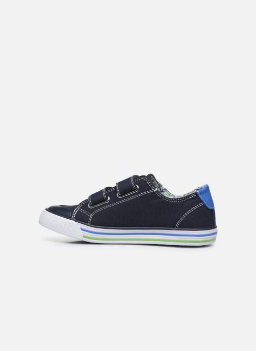 Sneaker Pablosky Baskets Lifestyle blau ansicht von vorne