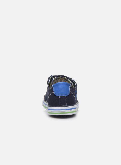 Baskets Pablosky Baskets Lifestyle Bleu vue droite