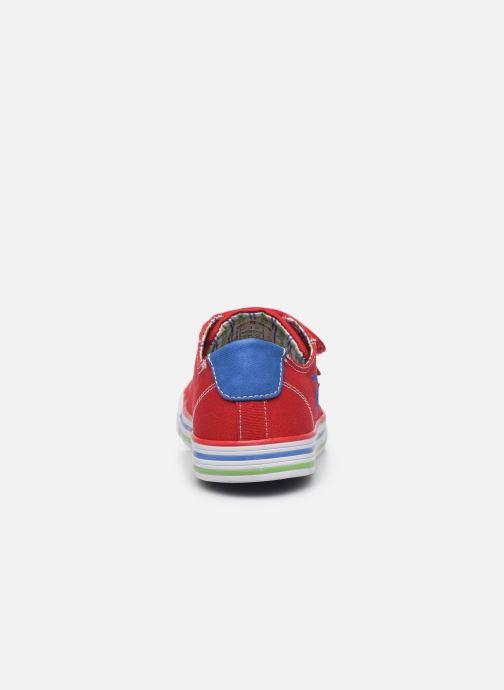 Sneaker Pablosky Baskets Lifestyle rot ansicht von rechts
