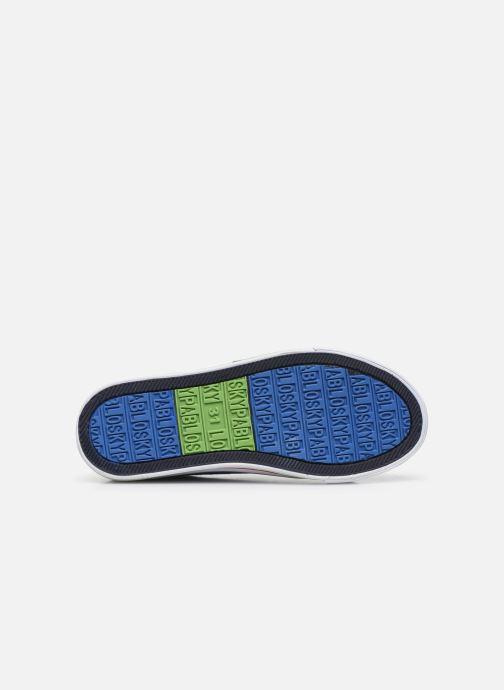 Sneaker Pablosky Baskets Lifestyle blau ansicht von oben