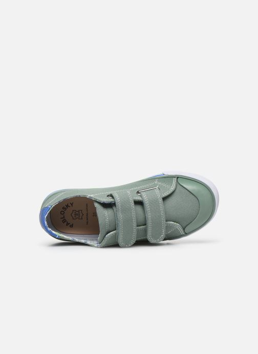 Sneakers Pablosky Baskets Lifestyle Verde immagine sinistra