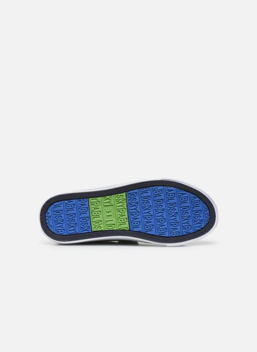 Sneaker Pablosky Baskets Lifestyle grün ansicht von oben