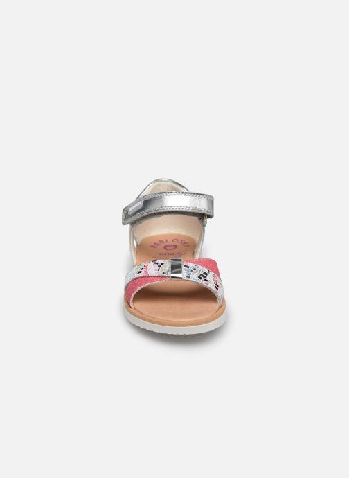 Sandalen Pablosky Sandales silber schuhe getragen