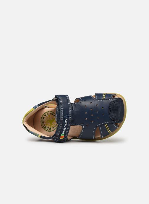 Sandales et nu-pieds Pablosky Sandales Bleu vue gauche