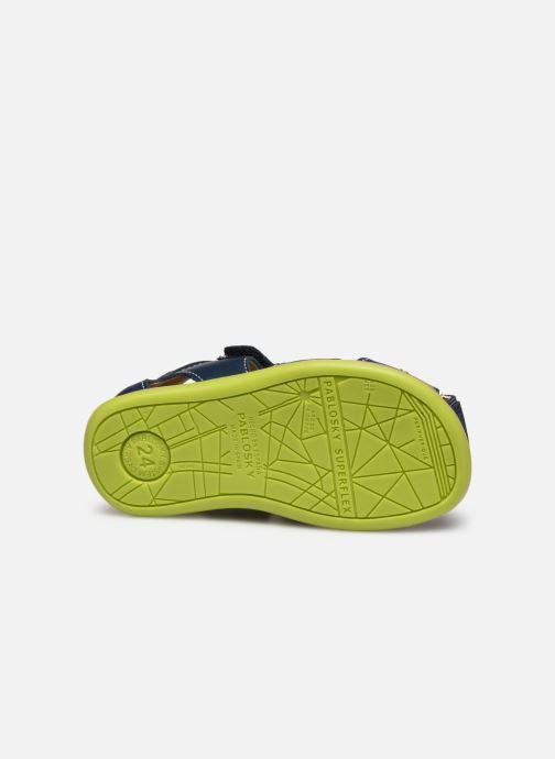 Sandales et nu-pieds Pablosky Sandales Bleu vue haut