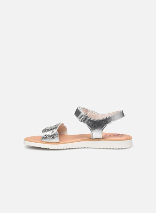 Sandals Pablosky Sandales Silver front view