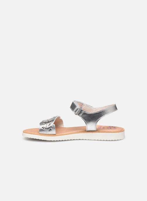 Sandalen Pablosky Sandales silber ansicht von vorne