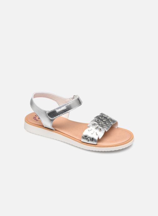 Sandals Pablosky Sandales Silver detailed view/ Pair view