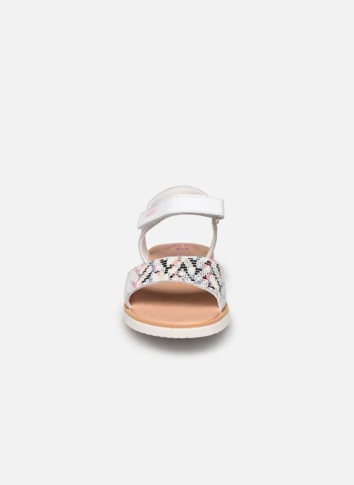 Sandali e scarpe aperte Pablosky Sandales Argento modello indossato