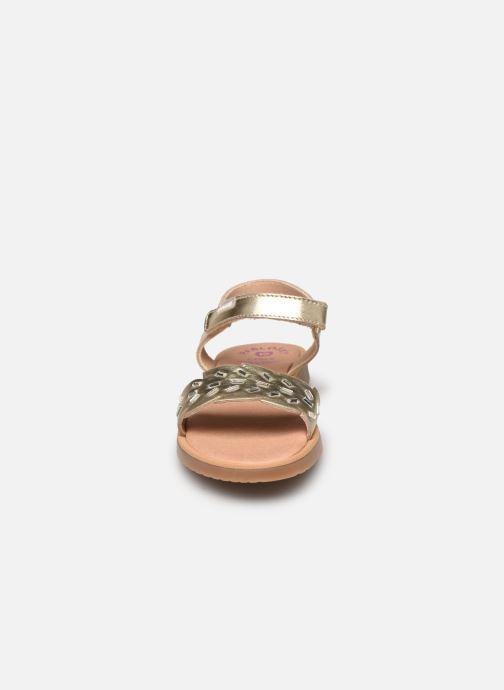 Sandalen Pablosky Sandales gold/bronze schuhe getragen
