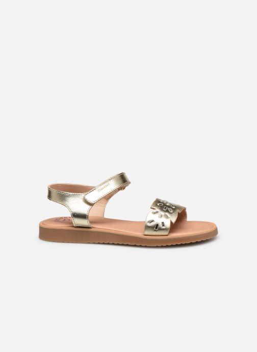 Sandales et nu-pieds Pablosky Sandales Or et bronze vue derrière