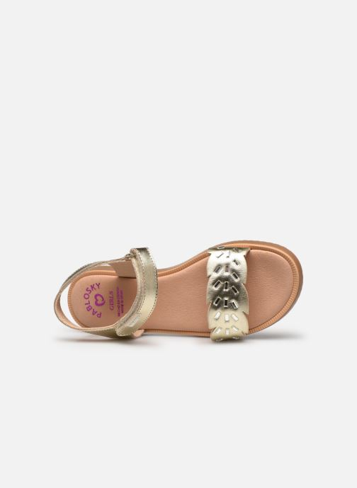 Sandales et nu-pieds Pablosky Sandales Or et bronze vue gauche