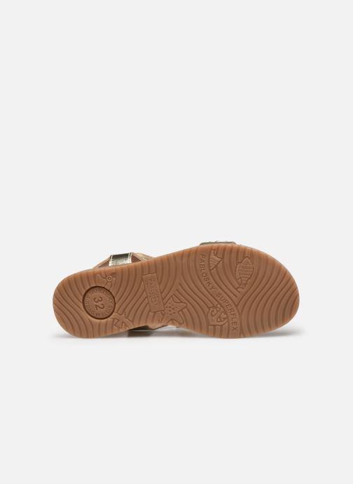 Sandales et nu-pieds Pablosky Sandales Or et bronze vue haut