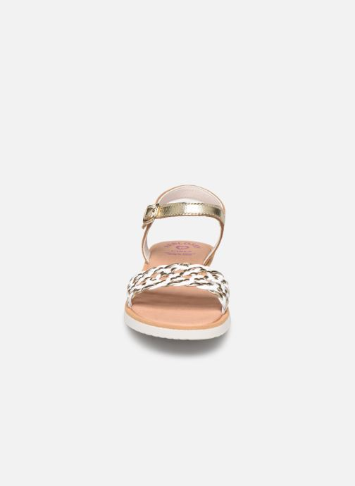 Sandals Pablosky Sandales Bronze and Gold model view