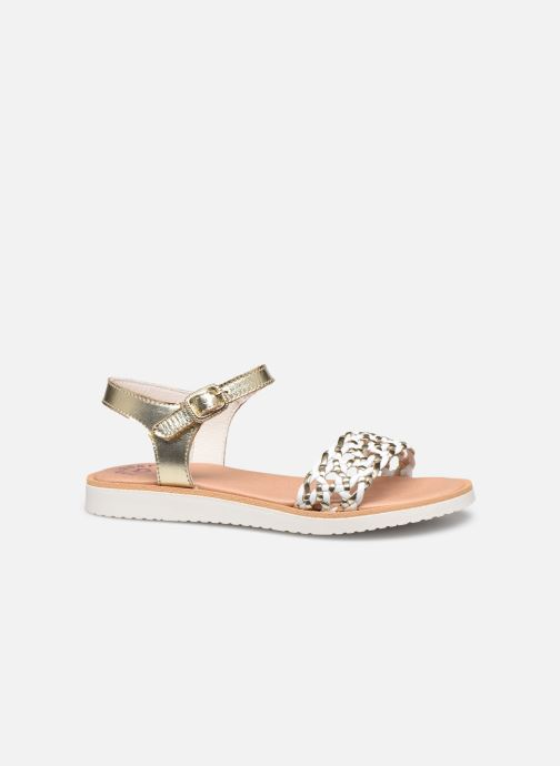 Sandals Pablosky Sandales Bronze and Gold back view