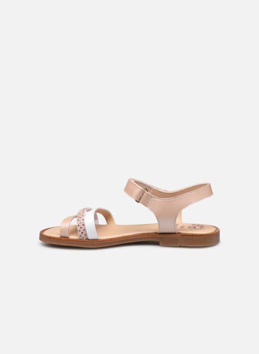 Sandales et nu-pieds Pablosky Sandales Argent vue face