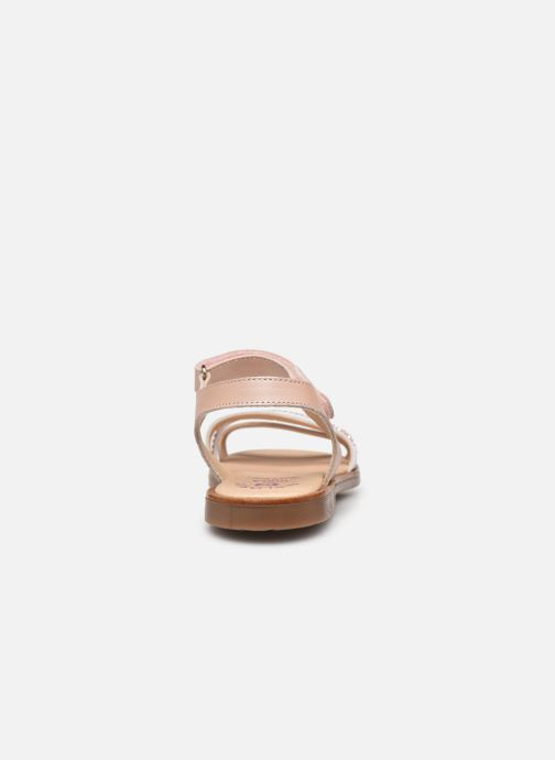 Sandals Pablosky Sandales Silver view from the right