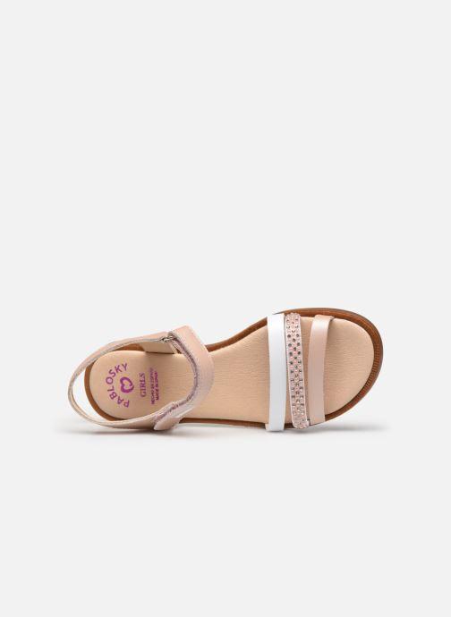 Sandales et nu-pieds Pablosky Sandales Argent vue gauche