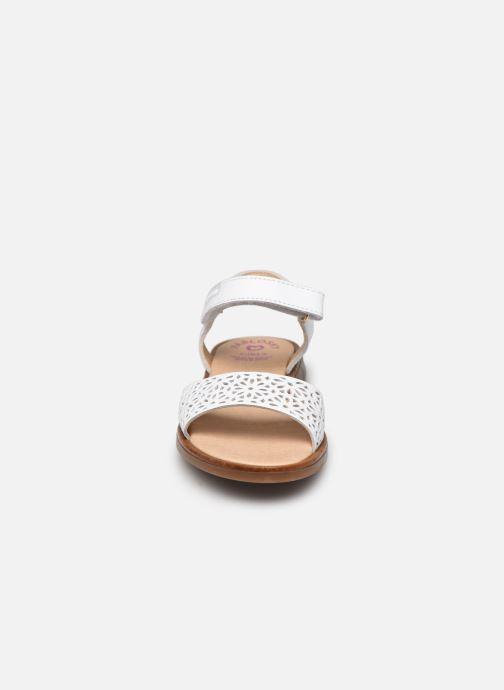 Sandales et nu-pieds Pablosky Sandales Blanc vue portées chaussures