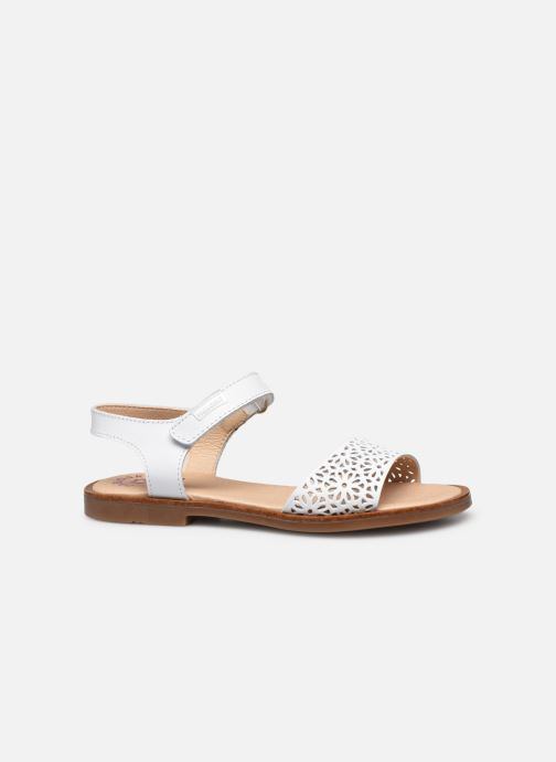 Sandals Pablosky Sandales White back view