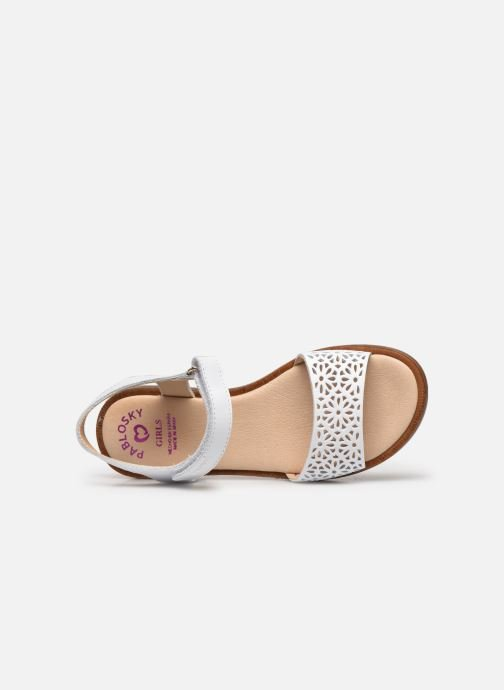 Sandales et nu-pieds Pablosky Sandales Blanc vue gauche
